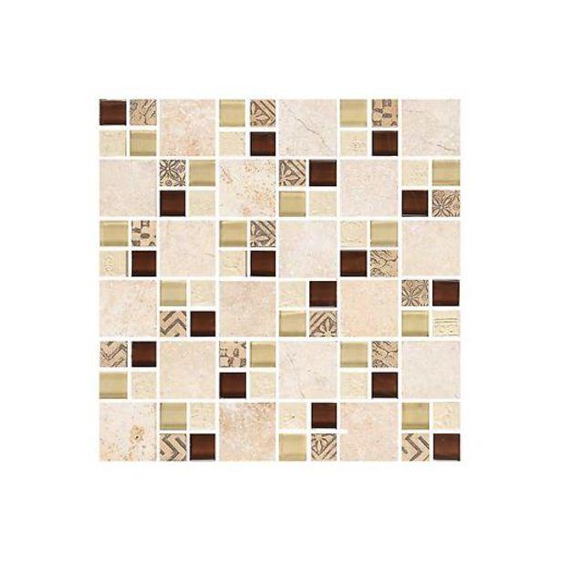 Oferta de Mosaico Nuevo Turan Beige Cara Única por $40900