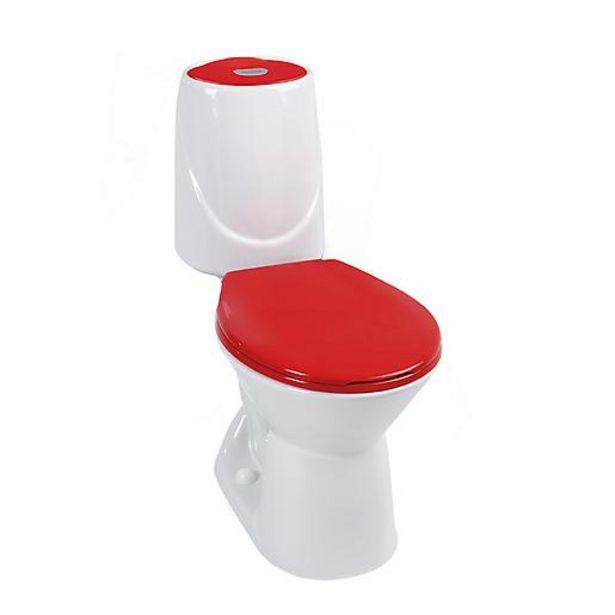 Oferta de Sanitario Happy Rojo Bicolor por $230900