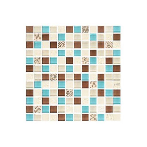 Oferta de Mosaico Nuevo Rauni Azul Cara Única por $33500