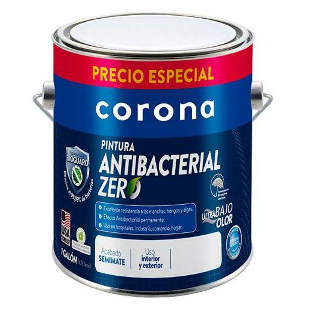 Oferta de Pintura Antibacterial Semimate Blanco 1Galón Precio Especial por $83800