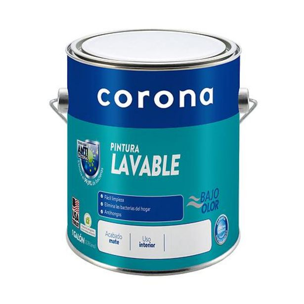Oferta de Pintura Lavable Azul Mediterraneo por $56500