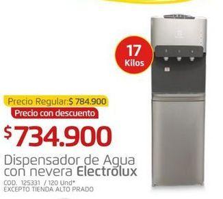 Oferta de Dispensador de agua Electrolux por $734900