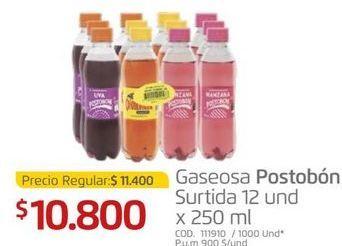 Oferta de Gaseosa Postobón por $10800