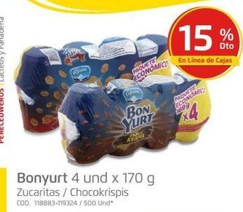 Oferta de Yogurt de sabores Bonyurt por