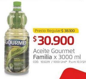 Oferta de Aceite Familia por $30900