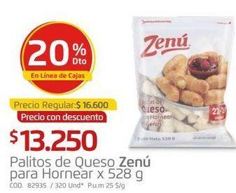 Oferta de Palitos de queso Zenú por $13250