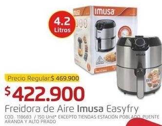 Oferta de Freidora eléctrica Imusa por $422900
