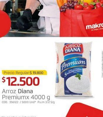 Oferta de Arroz Diana 4000g por $12500