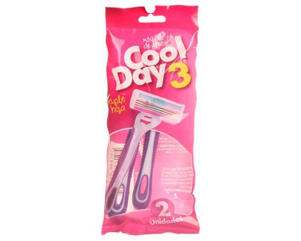 Oferta de Máquina Afeitar 3H Mujer CoolDay 2 Und por $2800