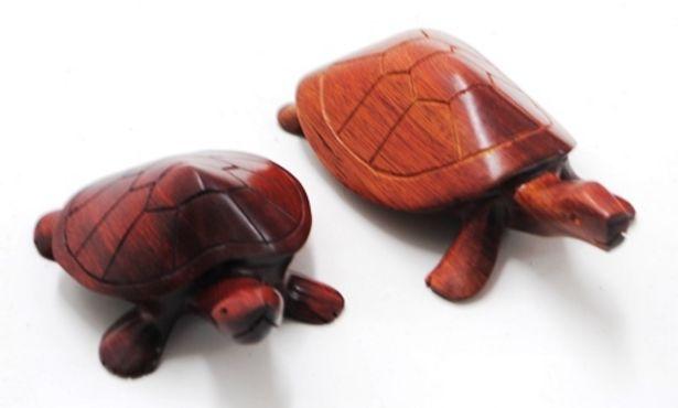 Oferta de Figura tortuga madera por $20000