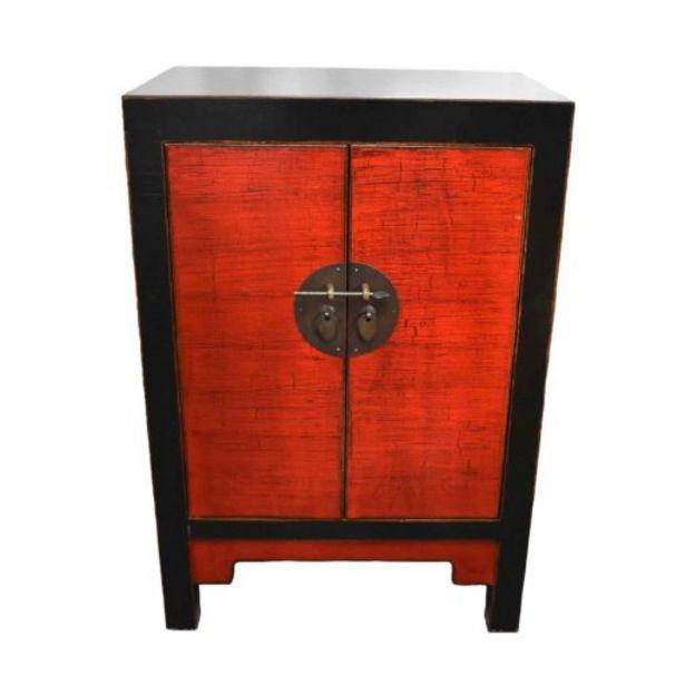 Oferta de Armario negro/rojo 58x38x85 cm por $1299900