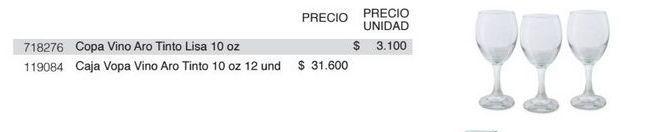 Oferta de Copa de vino Aro por $31600