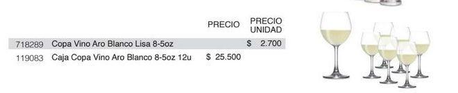 Oferta de Copa de vino Aro por $25500