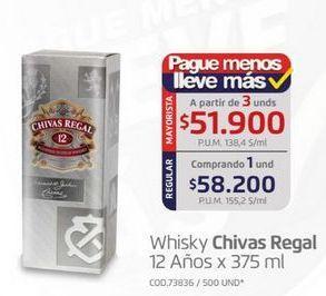 Oferta de Whisky Chivas Regal por $58200