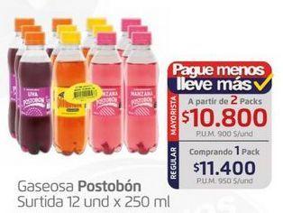 Oferta de Gaseosa Postobón por $11400