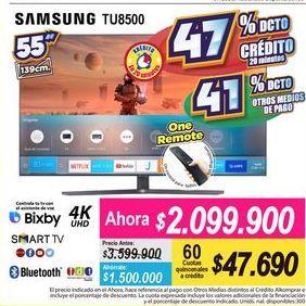 Oferta de Smart tv led Samsung por $2099900