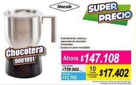 Oferta de Chocotera Haceb por $147108