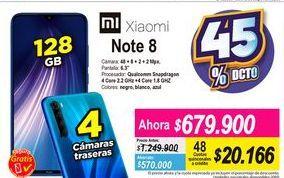 Oferta de Celulares Xiaomi por $679900