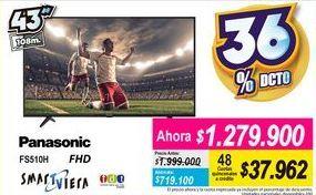 Oferta de Smart tv Panasonic por $1279900