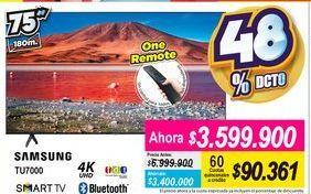 Oferta de Smart tv led Samsung por $3599900