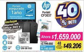 Oferta de Computador Portátil HP por $1659000