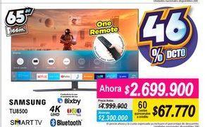 Oferta de Smart tv led Samsung por $2699900
