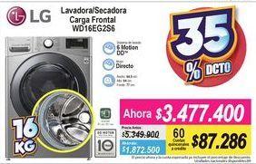 Oferta de Lavadora secadora LG por $3477400