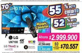 Oferta de Tv led LG por $2999900