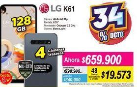Oferta de Celulares LG por $659900