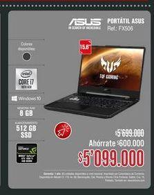 Oferta de Computador Portátil Asus 15,6'' por $5099000