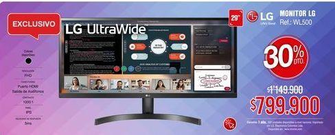 Oferta de Monitor LG por $799900