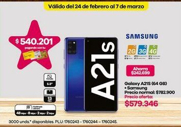 Oferta de Celulares Samsung por $579346