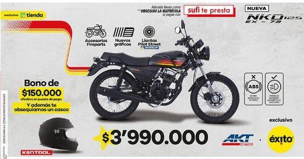 Oferta de Moto AKT por $3990000