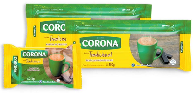 Oferta de Chocolate tradicional 2 libras Corona x 16 pastillas por $10890