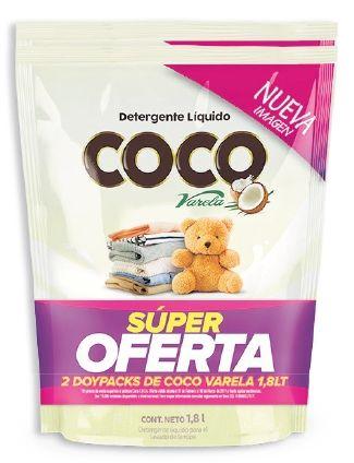 Oferta de Detergente líquido Coco Varela x 2 unidades por $29990