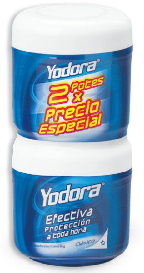 Oferta de Crema clásica Yodora x 2 unidades por $22590
