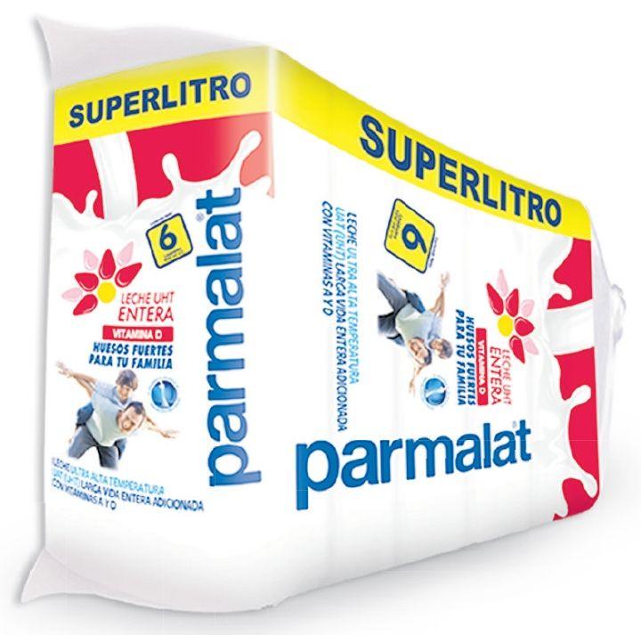 Oferta de Leche entera Parmalat x 6 unidades por $13490
