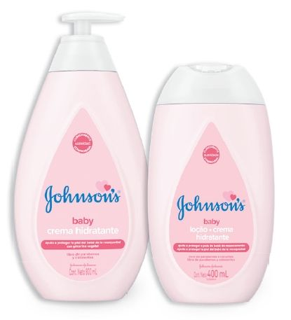 Oferta de En crema original Johnson's Baby por
