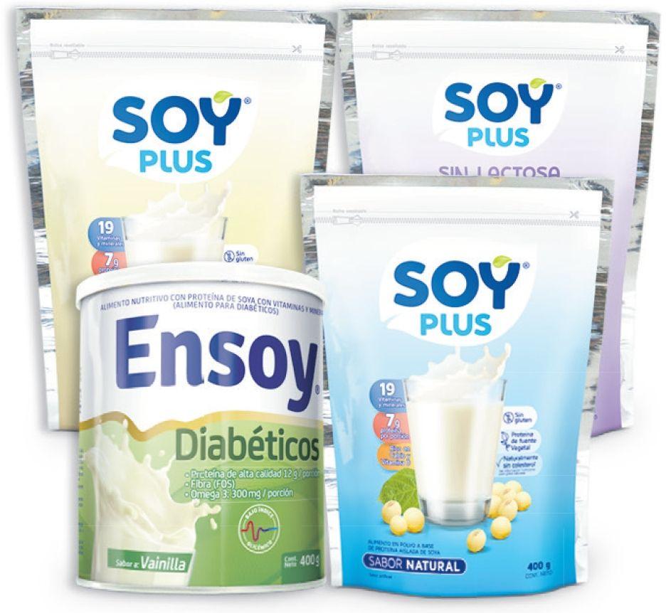Oferta de En leches de soya Soy Plus y multivitamínicos Ensoy por
