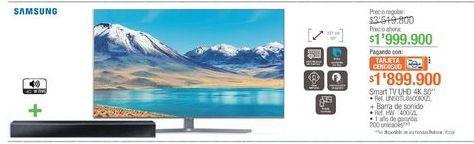 Oferta de Smart tv Samsung por $1999900
