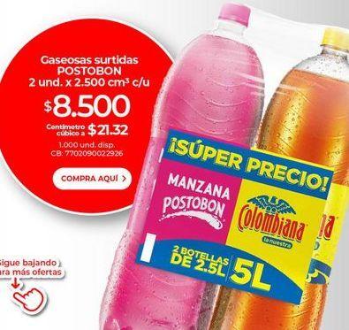 Oferta de Gaseosa Postobón por $8500