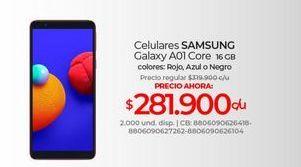 Oferta de Celulares Samsung por $281900