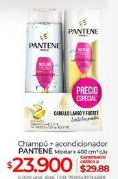 Oferta de Shampoo Pantene + acondicionador por $23900