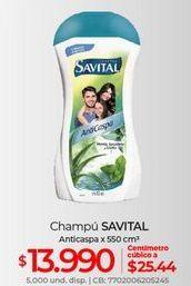 Oferta de Shampoo Savital por $13990