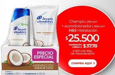 Oferta de Shampoo H&S + acondicionador por $25500