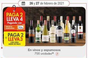 Oferta de Vino por