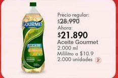 Oferta de Aceite vegetal Gourmet por $21890