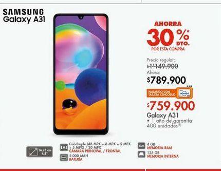 Oferta de Celulares Samsung A31  por $759900