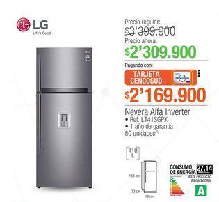 Oferta de Heladera LG por $2309900