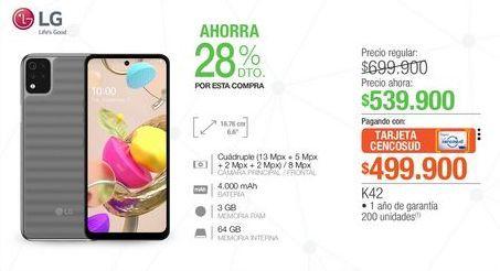 Oferta de Celulares LG por $539900